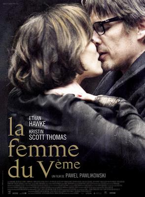 Woman in the Fifth - Poster - France