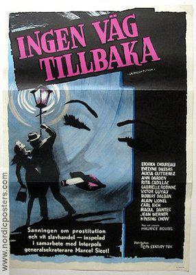 La Prostitution - Poster Suède