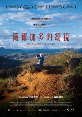 Le Sel de la terre - Poster - Taïwan