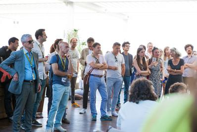 A large French delegation at the Locarno Film Festival - © Ivana De Maria / UniFrance