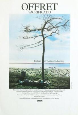 Le Sacrifice - Poster - Suède