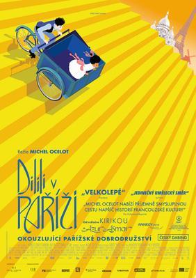 Dilili à Paris - Poster - Czech Republic