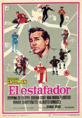 L'Homme aux cent visages - Poster Espagne