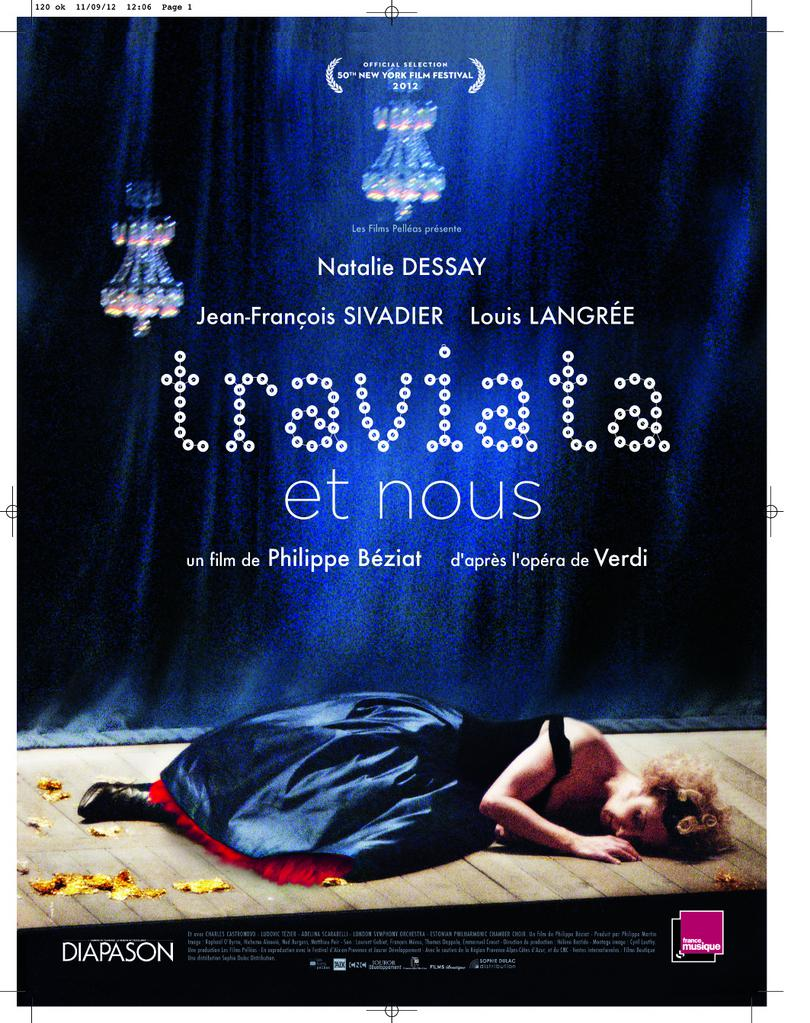 traviata film natalie dessay Natalie dessay natalie dessay artist page:  'becoming traviata':  2013 • for a film built almost completely from rehearsals on a bare stage,.