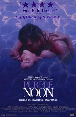Purple Noon - Poster Etats-Unis