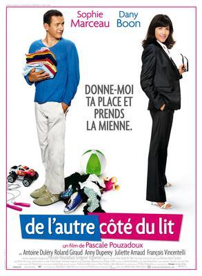 De l'autre côté du lit - Poster - France