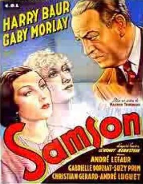 Samson - Poster Belgique
