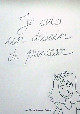 Je suis un dessin de princesse