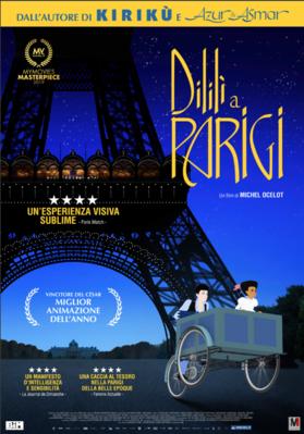 Dilili à Paris - Poster - Italy