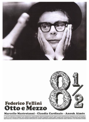 Federico Fellini's 8 ½ - Poster Italie ressortie