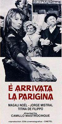 È arrivata la Parigina - Poster Italie