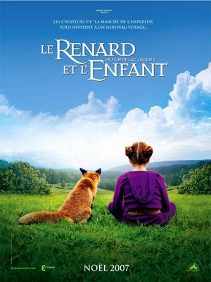 Le Renard et l'enfant - Poster - France