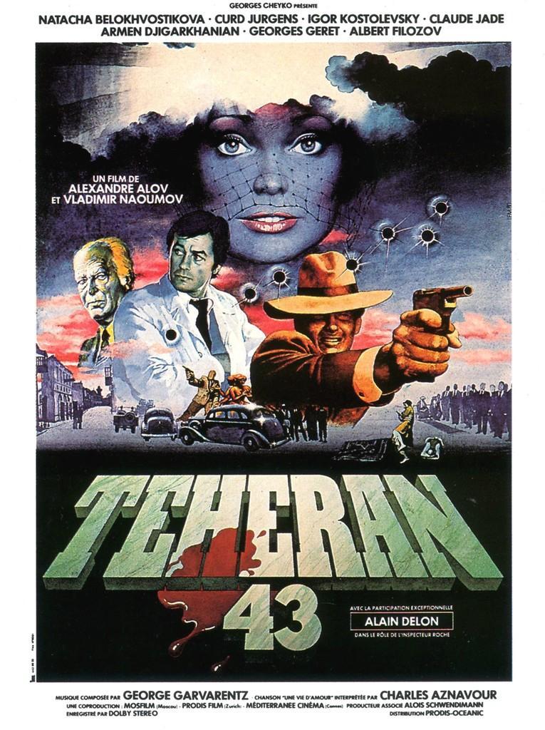 Téhéran 43 - Nid d'espions