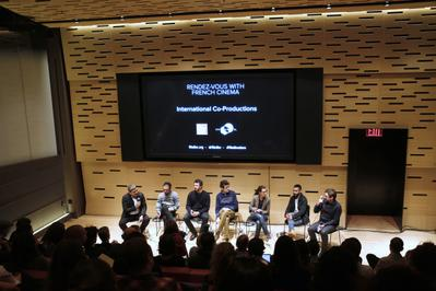 Portfolio - Le talk sur les co-productions internationales au Lincoln Center - © Bestimage