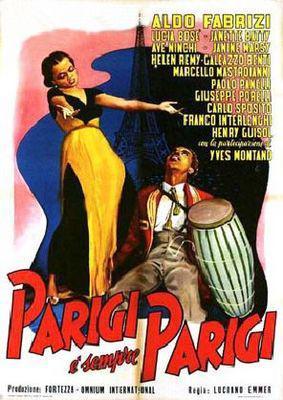 Paris est toujours Paris - Poster Italie