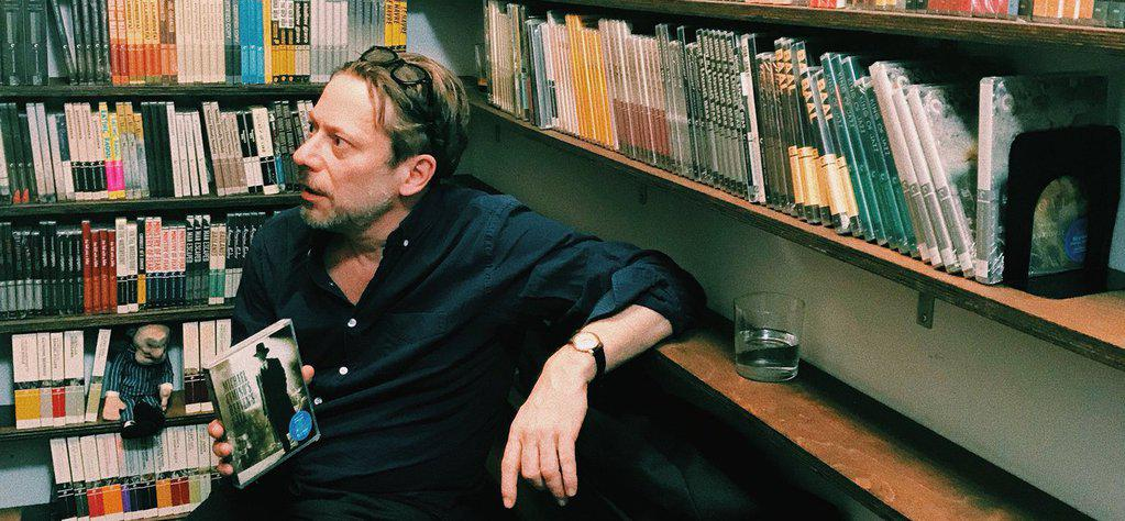 Mathieu Amalric visits Criterion