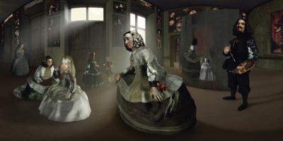 Las Meninas by Diego Velásquez - © Les Poissons Volants