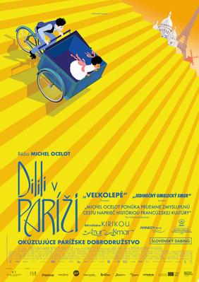 Dilili in Paris - Poster - Slovakia