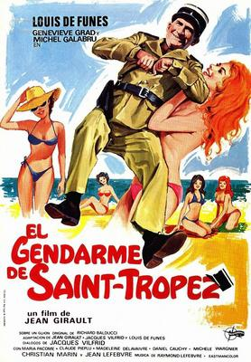 The Gendarme of St. Tropez - Affiche espagnole