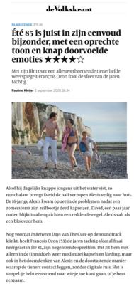 Revista de prensa – Septiembre del 2020
