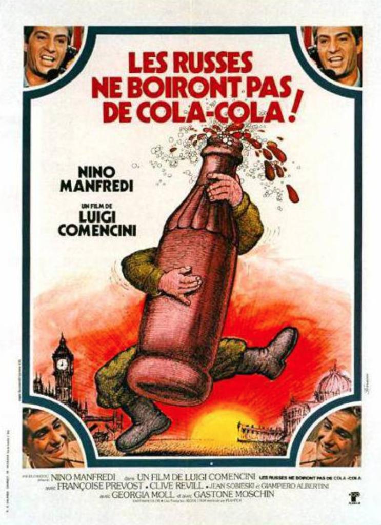 Les Russes ne boiront pas de Coca Cola