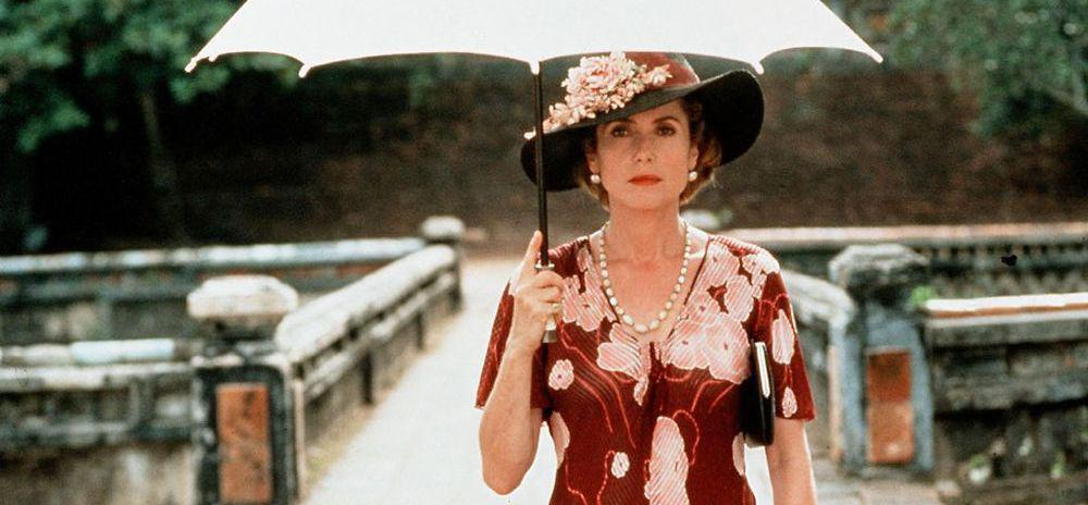 Catherine Deneuve in Vietnam and Myanmar for the 25th anniversary of the filming of Indochina