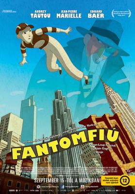 Phantom Boy - Poster - Hungary
