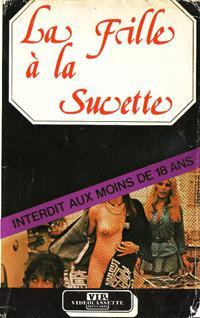 La Fille à la sucette - Jaquette VHS France