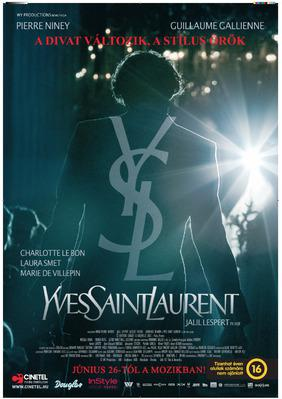 Yves Saint Laurent - Poster - Hungary