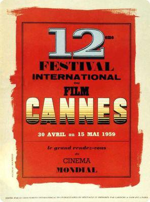 Cannes International Film Festival - 1959