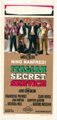 Servicio secreto a la italiana  - Poster Italie
