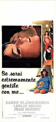 Tu seras terriblement gentille - Poster Italie