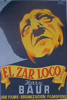 El Zar loco - Poster Espagne