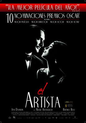 The Artist - Poster - Colombie