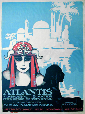 Lost Atlantis (Missing Husbands)  - Poster - Sweden