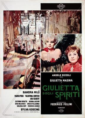 Giulietta de los espíritus - Poster Italie