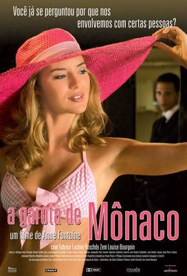 The Girl from Monaco - Poster - Brazil