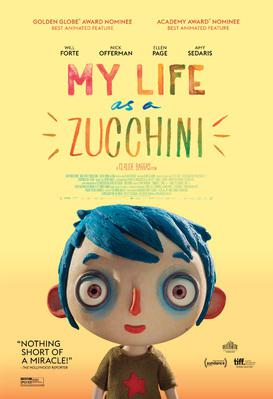 My Life as a Courgette - Poster - USA