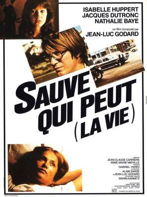 Sauve qui peut (La Vie) - Poster France