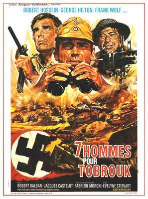 Sept hommes pour Tobrouk