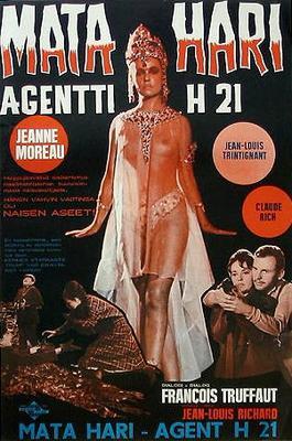 Mata Hari, Agent H21 - Poster Italie