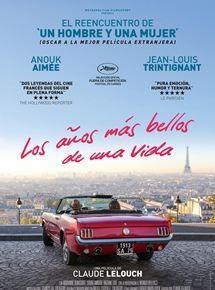 Les Plus Belles Années d'une vie - Poster - Spain