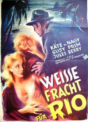 Le Chemin de Rio (Cargaison blanche) - Poster Allemagne