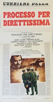 Procès express - Poster - Italie