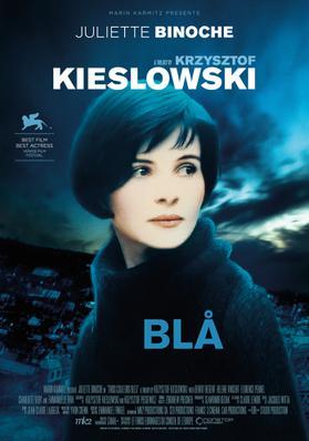 Trois couleurs : Bleu - Poster - Denmark