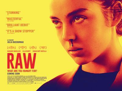Raw - Poster - UK
