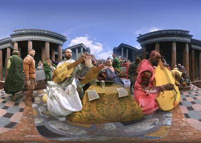 The Wedding Feast at Cana by Paolo Veronese - © Les Poissons Volants