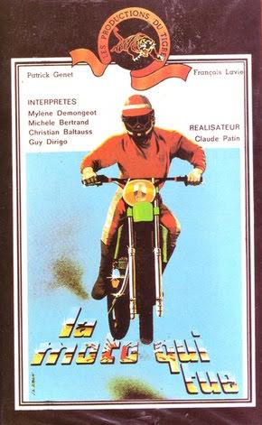 L'Echappatoire (La Moto qui tue) - Jaquette VHS France