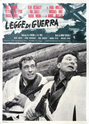 Ley di guerra - Poster - Italy