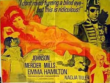Les Amours de Lady Hamilton - Poster Angleterre